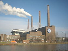 Wikipedia - GNU-FDL-licensed shot of VW factory in Germany